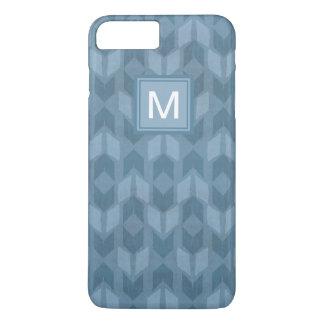 Outdoor Geo Step | Blue Arrow Pattern iPhone 8 Plus/7 Plus Case