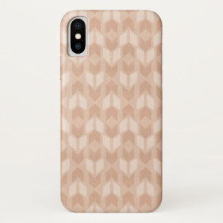 Outdoor Geo Step | Coral Arrow Pattern iPhone X Case
