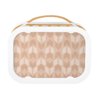 Outdoor Geo Step | Coral Arrow Pattern Lunch Box