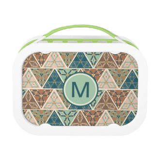 Outdoor Geo Step | Geometric Pattern Lunch Box