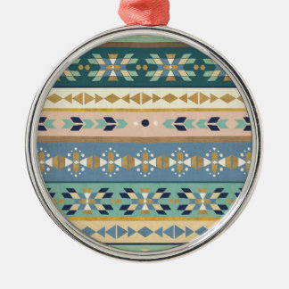 Outdoor Geo Step | Indian Pattern Christmas Ornament