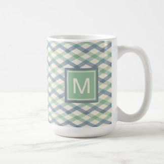 Outdoor Geo Step   Pastel Geometric Pattern Coffee Mug