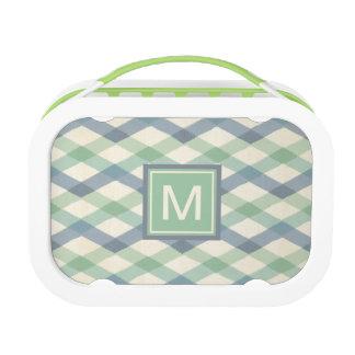 Outdoor Geo Step | Pastel Geometric Pattern Lunch Box