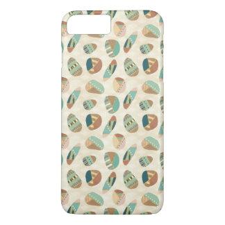 Outdoor Geo Step  | Teal Pattern iPhone 8 Plus/7 Plus Case