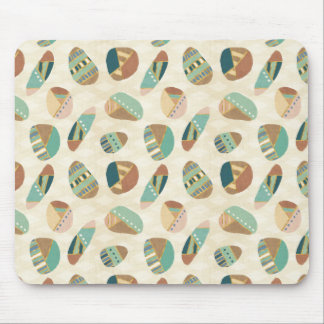 Outdoor Geo Step  | Teal Pattern Mouse Mat