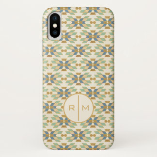 Outdoor Geo Step | Tribal Pattern iPhone X Case