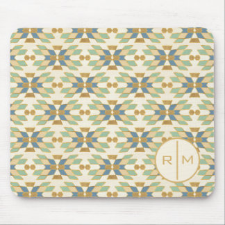 Outdoor Geo Step | Tribal Pattern Mouse Mat