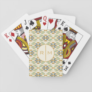 Outdoor Geo Step | Tribal Pattern Playing Cards