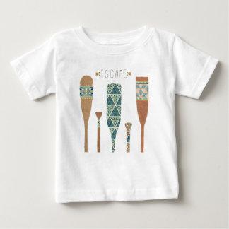 Outdoor Geo VI   Escape Baby T-Shirt