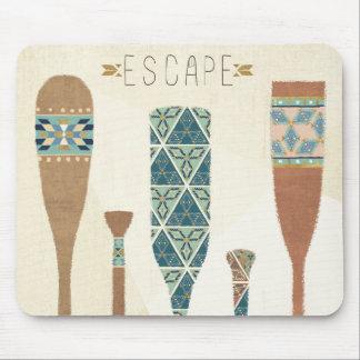 Outdoor Geo VI | Escape Mouse Mat