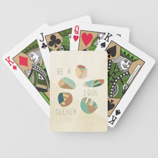 Outdoor Geo VIII   Be A Soul Seeker Bicycle Playing Cards