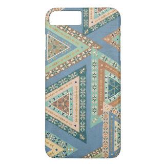 Outdoor Geo X | Blue Tribal Indian Pattern iPhone 8 Plus/7 Plus Case