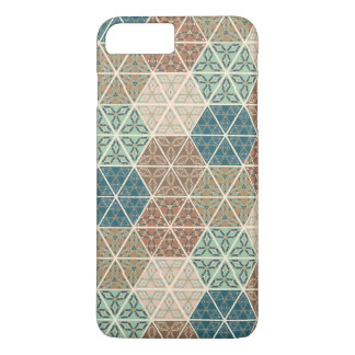 Outdoor Geo XI | Blue & Green Tribal Pattern iPhone 8 Plus/7 Plus Case