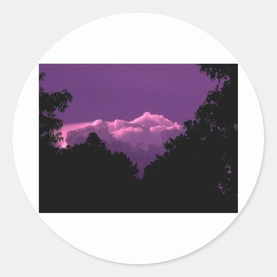 Outdoor Scenes1 Classic Round Sticker