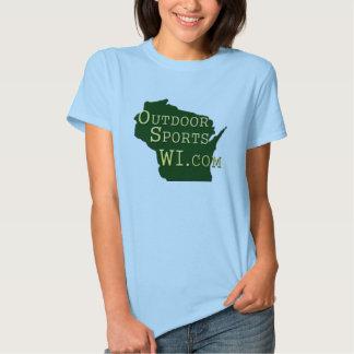 Outdoor Sports Wisconsin - Ladies T-shirt