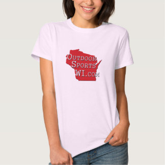 Outdoor Sports Wisconsin Red Logo T-shirt