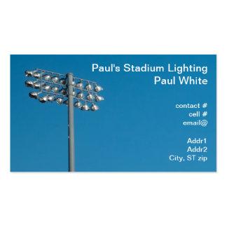 Outdoor Stadium Lighting Pack Of Standard Business Cards