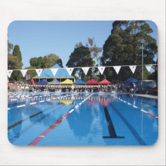 Outdoor Swimming Pool Mouse Mat