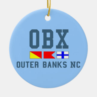 Outer Banks. Christmas Tree Ornament