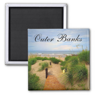Outer Banks Dunes Path Magnet