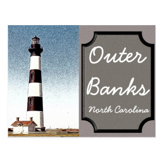 Outer Banks - North Carolina - postcard