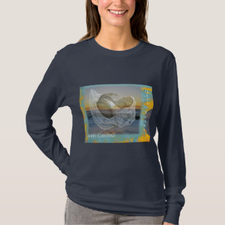 Outer Banks North Carolina Seashell & Surf T-Shirt