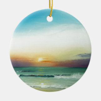 Outer Banks Sunrise Christmas Ornament