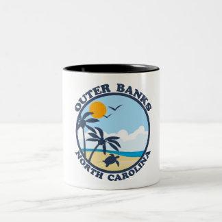Outer Banks. Two-Tone Mug