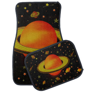 Outer Harvest Moons Floor Mat