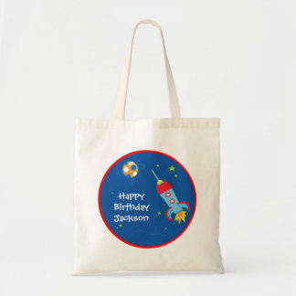 Outer Space 1 Birthday Tote Bag