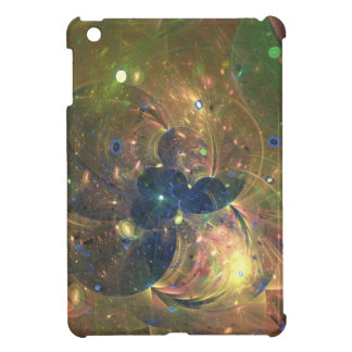 Outer Space Abstract Painting, iPad Case