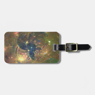 Outer Space Abstract Painting, Luggage Luggage Tag