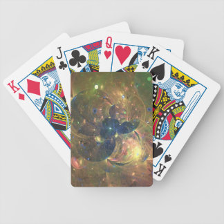 Outer Space Abstract Painting, Playing Cards