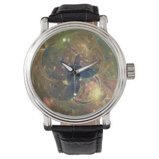 Outer Space Abstract Painting, Watch