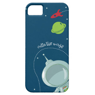 Outer Space Astronaut iPhone Case