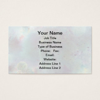 Outer Space. Business Card