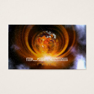 Outer Space Business Card