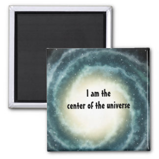 Outer Space Center of the Universe Refrigerator Magnet