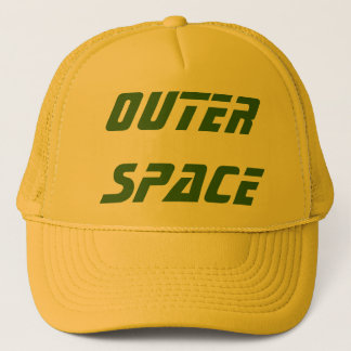 OUTER SPACE - Customized equipment Trucker Hat