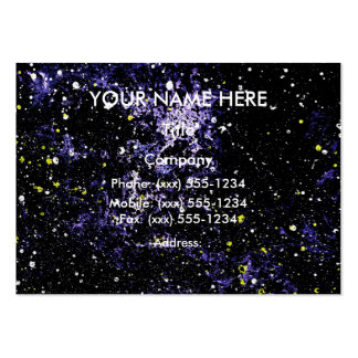 OUTER SPACE EXPANSE (Empty Space design 1) ~ Pack Of Chubby Business Cards