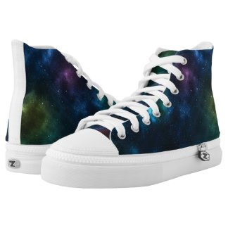 Outer Space Galaxy Shoes Printed Shoes