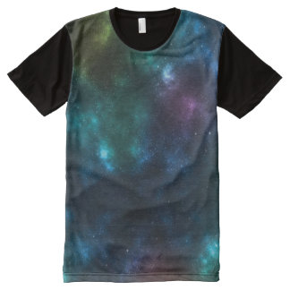 Outer Space Galaxy T-Shirt