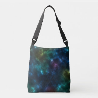 Outer Space Galaxy Tote