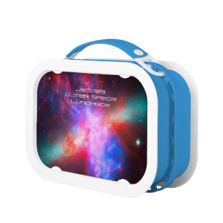 Outer space image: Cigar Galaxy, Messier 8 Lunch Boxes