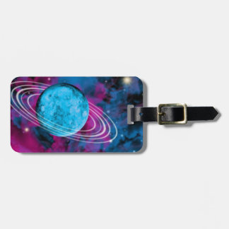 Outer Space Luggage Tag