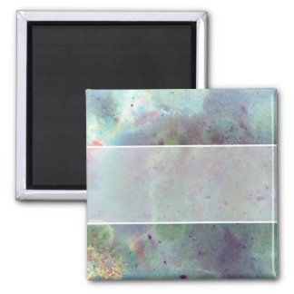 Outer Space. Square Magnet