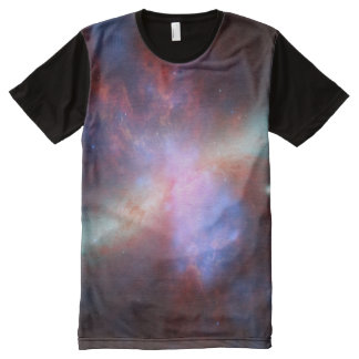 Outer Space Nebula Astronomy All-Over Print T-Shirt