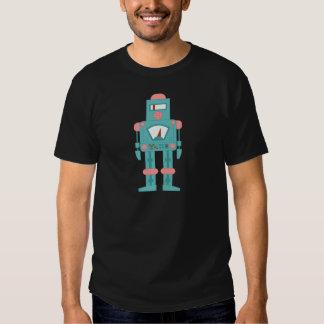 Outer Space Siren Robot Tshirt