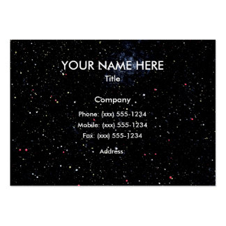 OUTER SPACE STARS EXPANSE design 3 ~ Pack Of Chubby Business Cards