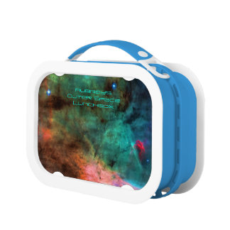 Outer space: Swan Nebula, Intriguing Astronomy Lunch Box